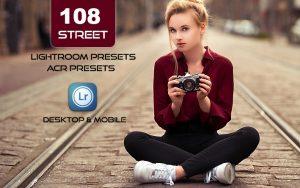 108 پریست لایت روم عکاسی خیابانی و پریست کمراراو Street Lightroom ACR Presets