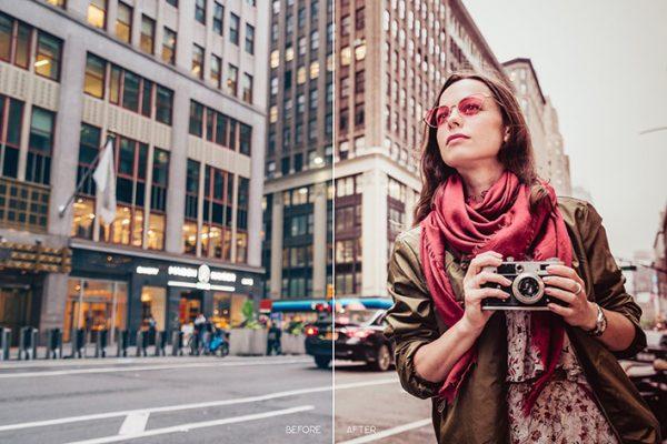 114 پریست لایت روم عکاسی شهری و پریست کمراراو Urban City LR Mobile and ACR Presets