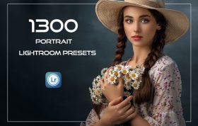 1300 پریست آماده لایت روم پرتره حرفه ای Portrait Lightroom Presets