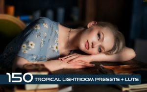 150 پریست لایت روم و لات رنگی تم نواحی گرمسیری Tropical Lightroom Presets + LUTs