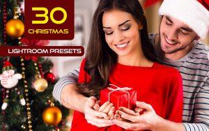 30 پریست لایت روم کریسمس Christmas Lightroom Presets