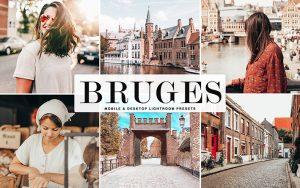 34 پریست لایتروم و Camera Raw و اکشن کمرا راو فتوشاپ بروژ بلژیک Bruges Lightroom Presets