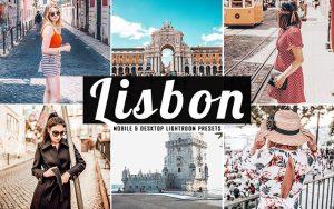 34 پریست لایتروم و Camera Raw و اکشن کمرا راو فتوشاپ لیسبون پرتغال Lisbon Lightroom Presets