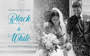 60 پریست لایت روم سیاه و سفید و براش لایت روم Black&White Presets for Lightroom (1)