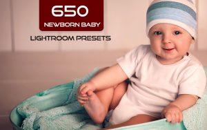 650 پریست لایت روم نوزاد مخصوص آتلیه کودک و نوزاد Newborn Baby Lightroom Presets