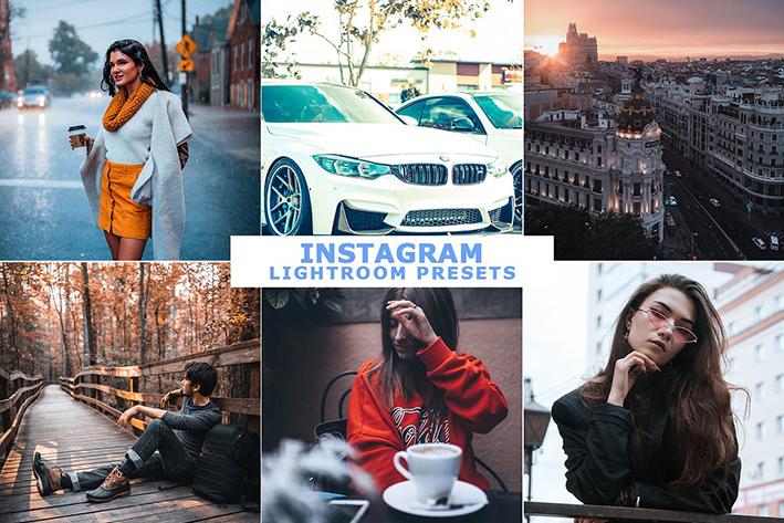 10 پریست لایت روم حرفه ای اینستاگرام Instagram Lightroom Presets