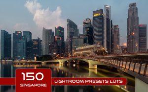 150 پریست لایت روم و لات رنگی تم سنگاپور Singapore Lightroom Presets LUTs