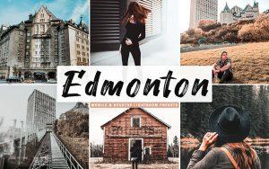 34 پریست لایتروم و Camera Raw و اکشن کمرا راو فتوشاپ تم ادمونتون Edmonton Lightroom Presets