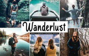 34 پریست لایت روم سیاحت و سفر و Camera Raw و اکشن کمرا راو فتوشاپ Wanderlust Lightroom Presets