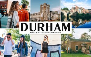 34 پریست لایت روم و Camera Raw و اکشن کمرا راو فتوشاپ دورام انگلستان Durham Lightroom Presets
