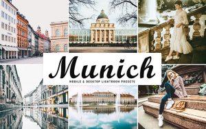34 پریست لایت روم و Camera Raw و اکشن کمرا راو فتوشاپ مونیخ آلمان Munich Lightroom Presets
