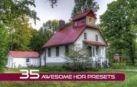 35 پریست لایت روم حرفه ای افکت اچ دی آر Awesome HDR Presets