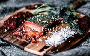 36 پریست لایت روم مواد غذایی و پریست فتوشاپ CAFE & FOOD FILM LIGHTROOM PRESETS