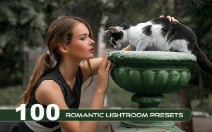 دانلود ۱۰۰ پریست لایت روم دسکتاپ تم رمانتیک Romantic Lightroom Presets