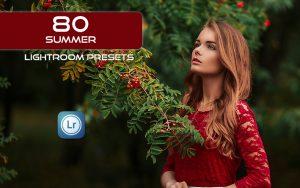 ۸۰ پریست لایت روم دسکتاپ تم تابستانی Summer Lightroom Presets