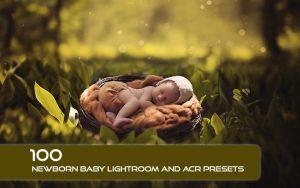 100 پریست لایت روم نوزاد و پریست کمرا راو Newborn Baby Lightroom ACR Presets