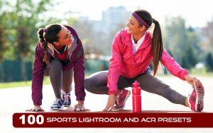 100 پریست لایت روم ورزشی و پریست کمرا راو Sports Lightroom And ACR Presets