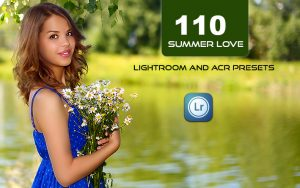 110 پریست لایت روم تابستان و پریست کمرا راو فتوشاپ Summer Love Lightroom and ACR Presets
