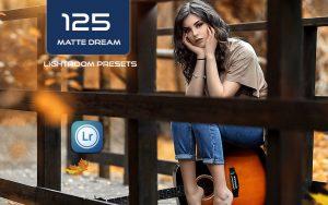 125 مات رنگی حرفه ای برای لایت روم Matte Dream Lightroom Presets