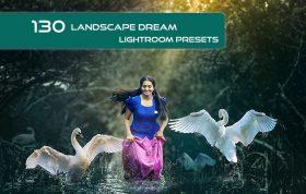 130 پریست لایت روم طبیعت تم رویایی Lanscape Dream Lightroom Presets