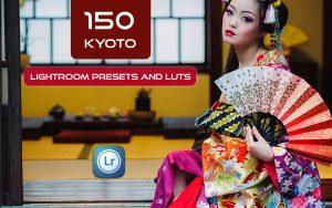 150 پریست لایت روم حرفه ای و لات رنگی Kyoto Lightroom Presets and LUTs