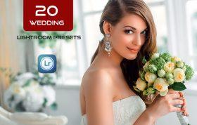 20 پریست لایت روم حرفه ای آتلیه عروس Wedding Lightroom Presets