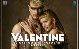 20 پریست لایت روم و پریست کمرا راو فتوشاپ تم ولنتاین Valentine Lightroom & ACR Presets