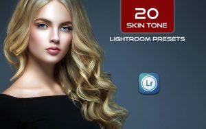 20 پریست لایت روم پرتره حرفه ای استودیویی Skin Tone Lightroom Presets
