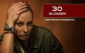 30 پریست لایت روم رنگی حرفه ای تم بلاگر Blogger Lightroom Presests