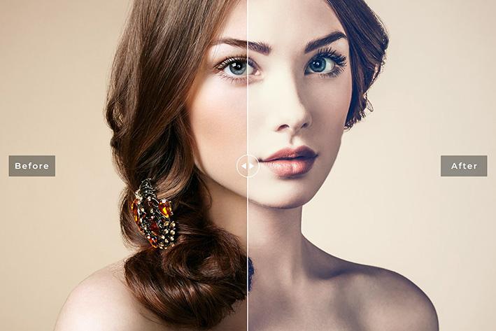 30 پریست لایت روم پرتره فشن و پریست کمرا راو Fashion Portrait Lightroom & ACR Presets