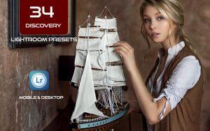 34 پریست لایت روم جهانگردی و Camera Raw و اکشن کمرا راو فتوشاپ Discovery Lightroom Presets
