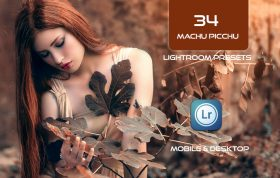 34 پریست لایت روم طبیعت و Camera Raw و اکشن کمرا راو فتوشاپ Machu Picchu Lightroom Presets