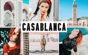 34 پریست لایت روم و Camera Raw و اکشن کمرا راو فتوشاپ کازابلانکا مراکش Casablanca Lightroom Presets
