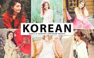 34 پریست لایت روم و Camera Raw و اکشن کمرا راو فتوشاپ کشور کره Korean Lightroom Presets