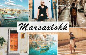 34 پریست لایت روم و Camera Raw و اکشن کمرا راو فتوشاپ Marsaxlokk Lightroom Presets