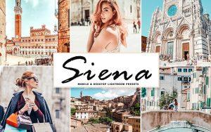 34 پریست لایت روم و Camera Raw و اکشن کمرا راو فتوشاپ Siena Lightroom Presets