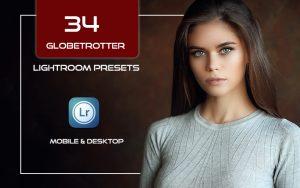 34 پریست لایت روم پرتره و Camera Raw و اکشن کمرا راو فتوشاپ Globetrotter Lightroom Presets