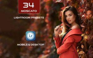 34 پریست لایت روم پرتره و Camera Raw و اکشن کمرا راو فتوشاپ Moscato Lightroom Presets