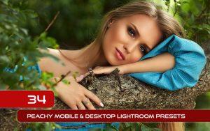 34 پریست لایت روم پرتره و Camera Raw و اکشن کمرا راو فتوشاپ Peachy Lightroom Presets