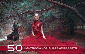 50 پریست لایت روم HDR فوق حرفه ای Lightroom HDR Supreme Presets