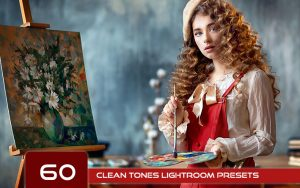 60 پریست رنگی لایت روم و پریست کمرا راو فتوشاپ Clean Tones Lightroom Presets