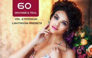 60 پریست لایت روم و پریست کمرا راو فتوشاپ Orange & Teal Vol. 2 Premium Lightroom Presets