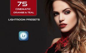 75 پریست لایت روم سینمایی تم آبی و نارنجی Cinematic Orange Teal Lightroom Presets