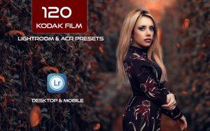 120 پریست لایت روم و پریست کمرا راو فتوشاپ Kodak Film Lightroom & ACR Presets