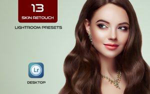 13 پریست لایت روم رتوش چهره پرتره Skin Retouch Portrait Lightroom Presets