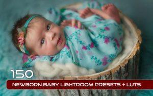150 پریست لایت روم آتلیه کودک و لات رنگی Newborn Baby Lightroom Presets
