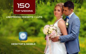 150 پریست لایت روم عروسی حرفه ای و لات رنگی Top Wedding Lightroom Presets