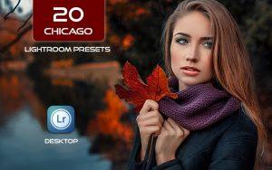 20 پریست لایت روم حرفه ای رنگی Chicago Lightroom Presets