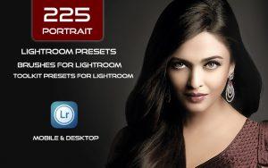 225 پریست لایت روم پرتره و براش لایت روم Portrait Lightroom Presets