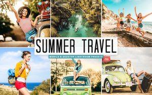 34 پریست لایت روم سفر و Camera Raw و اکشن کمرا راو فتوشاپ Summer Travel Lightroom Presets